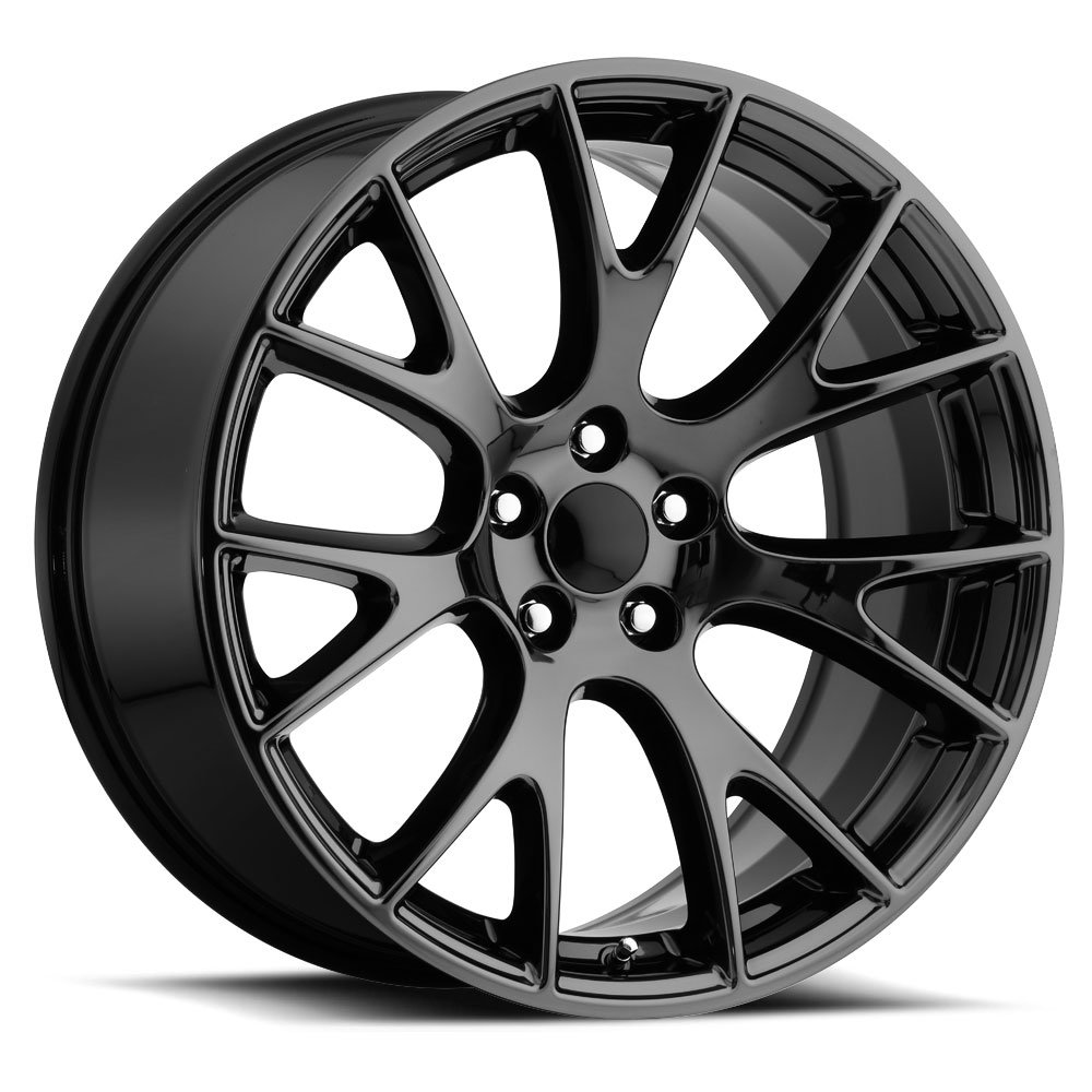 image of the Dodge Hellcat factory oem wheel